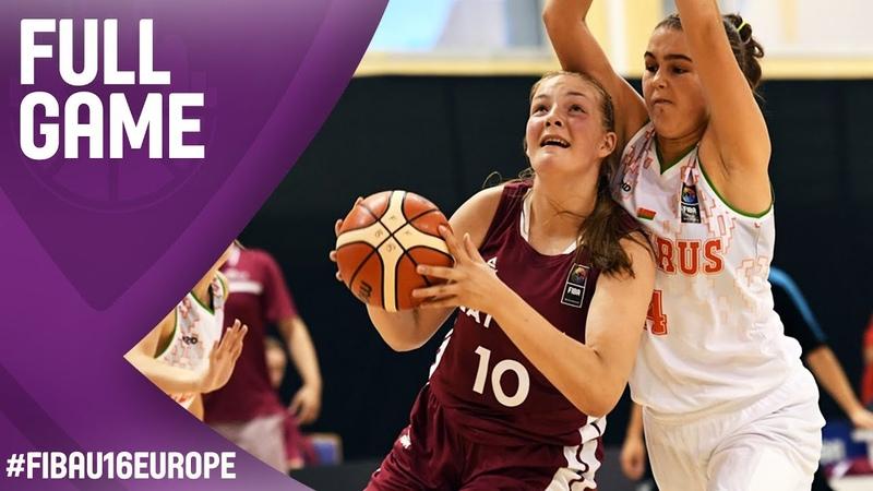 Belarus v Latvia - Full Game - FIBA U16 Women's European Championship 2017