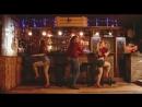 "Pin-up girl and pub ""GARAGE"""