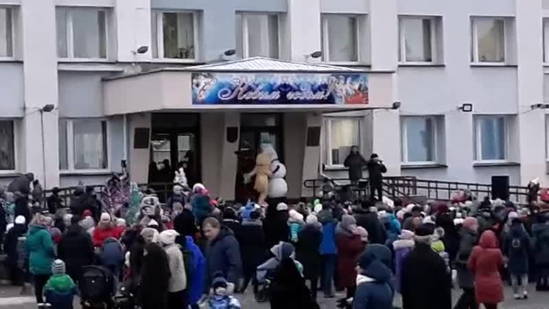 Общественные организации – детям:шоу программа с  участием с участием белорусского  игрового театра ростовых кукол  г. Дятлово
