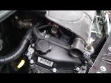 Работа двигателя Peugeot 107