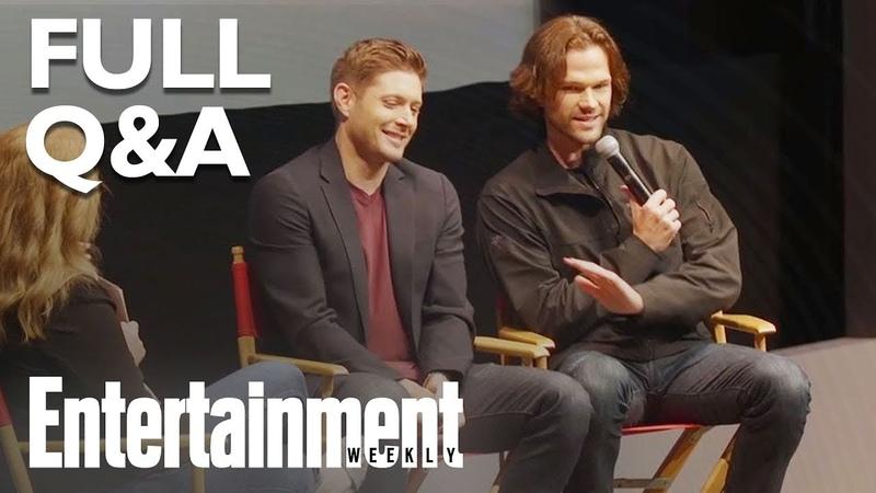 Supernatural's Jensen Ackles Jared Padalecki Answer Season 14 QA (FULL) | Entertainment Weekly