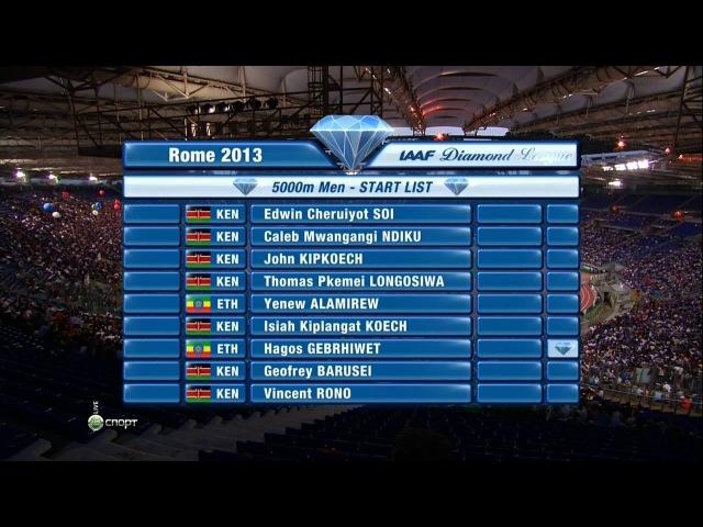 Легкая атлетика / Diamond League 2013 / Этап 5 / Рим (Италия) / НТВ [06.06.2013]