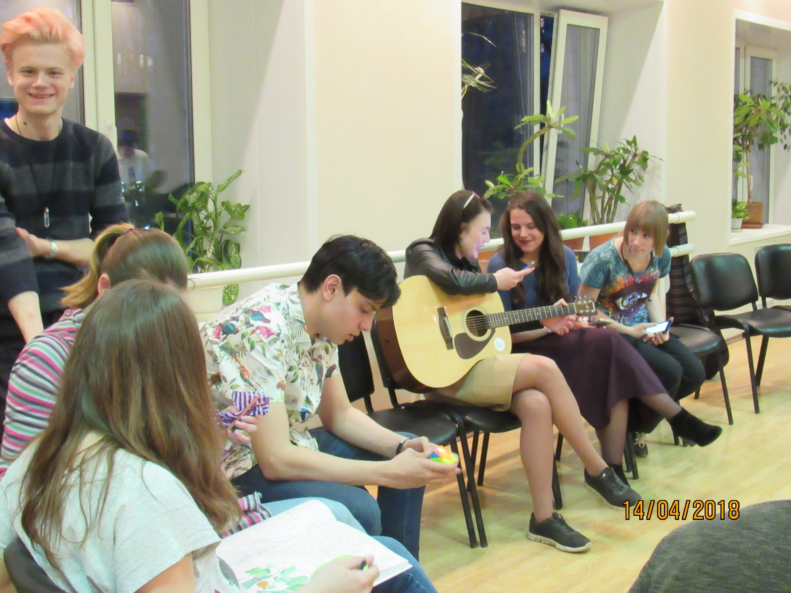 гитарный вечер Я выбираю жизнь