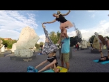 AcroYoga #mannequinchallenge by Flying Machines for Moscow AcroFamily