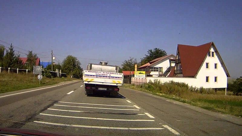 Румыния проезд на Буковину (1) - Romania travel to Bukovina
