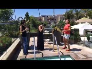 Игра Престолов - ALS ice bucket challenge Sibel Kekilli
