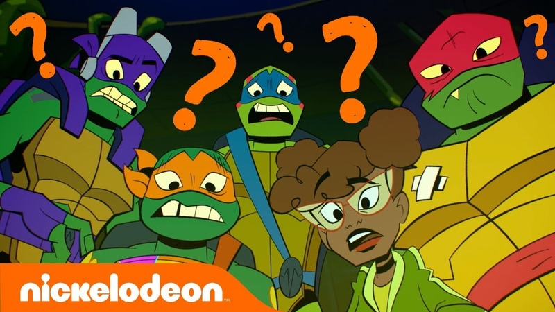 You Won't Believe How the RISE of the TMNT Cast Answered These Questions! ❓🐢❓🐢 | Nick