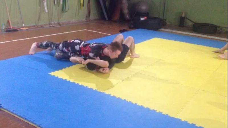 Смена позиций в партере Киров мма Борьба бокс спорт грэпплинг бжж