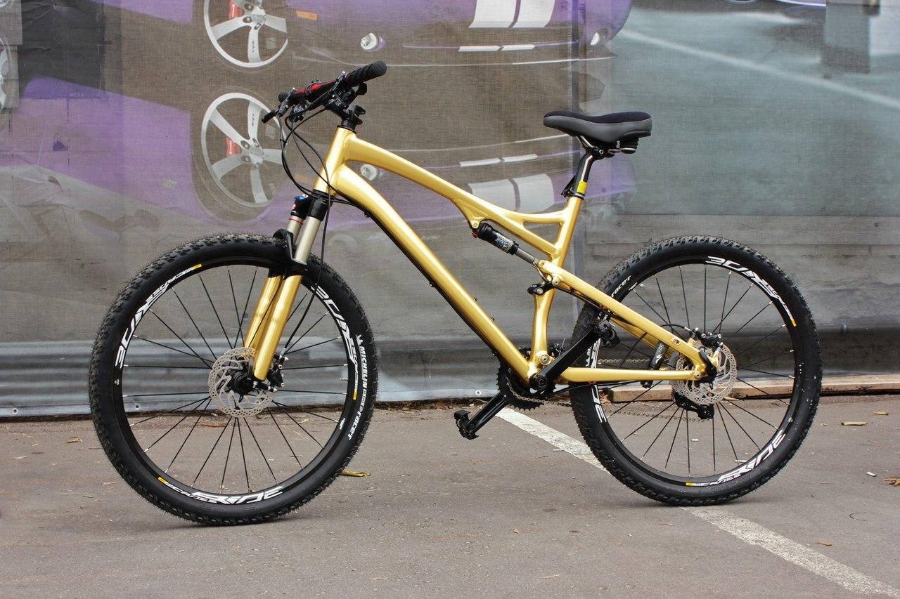 Оклейка велосипеда своими руками 34