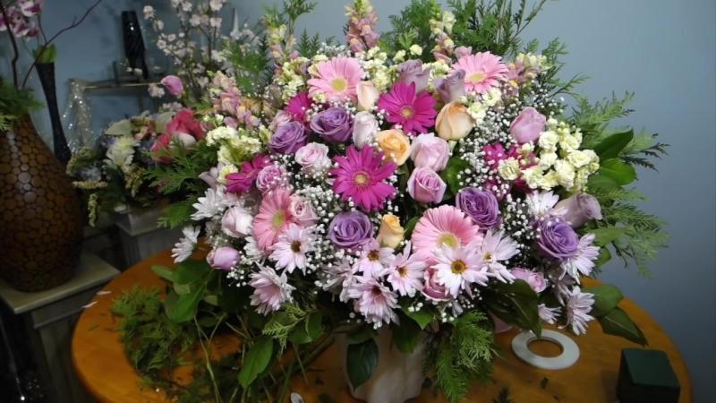 Композиции из цветов для церемонии своими руками