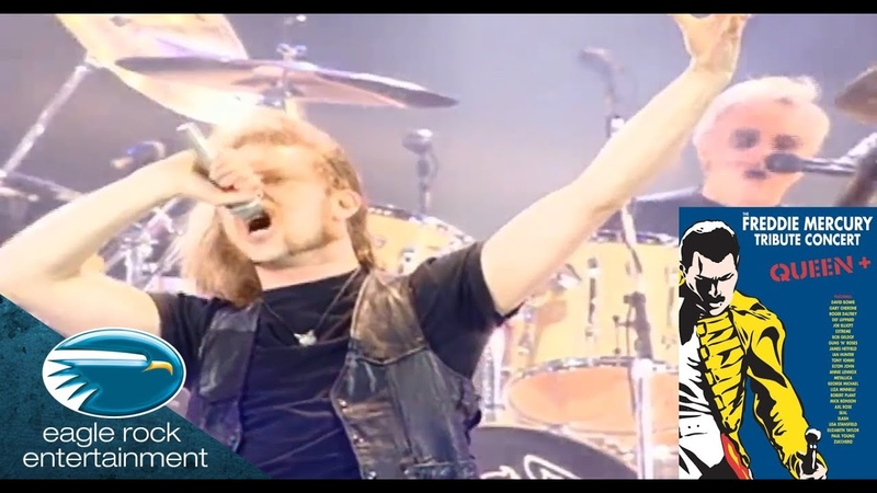 Exclusive - Queen James Hetfield/Tony Iommi - Stone Cold Crazy (The Freddie Tribute Concert)