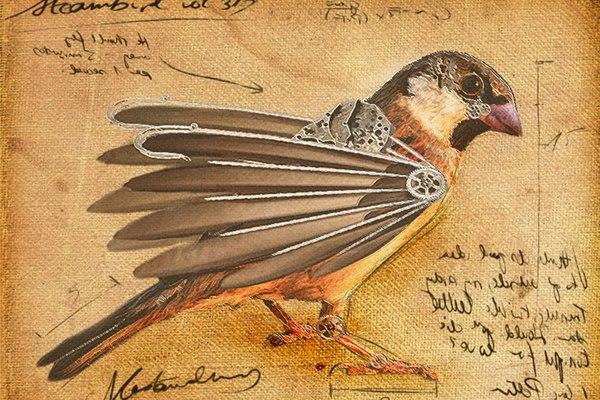 Механическая птица