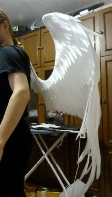 Как сделать крепление крыльев 305