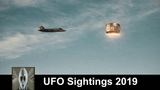 UFO Sightings 2019 Space Alien And Jet Chases UFO