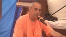 Niranjana Swami class on Spiritual Emotions at Bhakti sangama Ukraine 13 Sep 2018