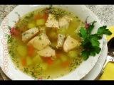 Уха из лосося - рецепт пошагового приготовления