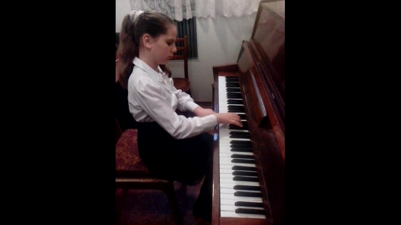 Экзамен по фортепиано