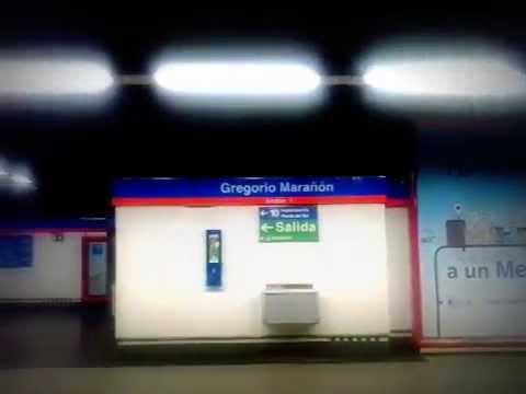 Metro de Madrid (L7) Gregorio Marañón - Avenida de América