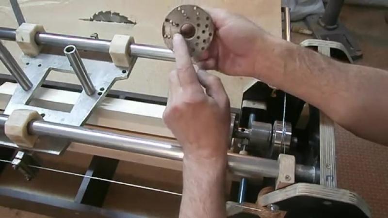Витые балясины (каннелюр). Часть 1. The milling machine for wood. Part 1 (1)