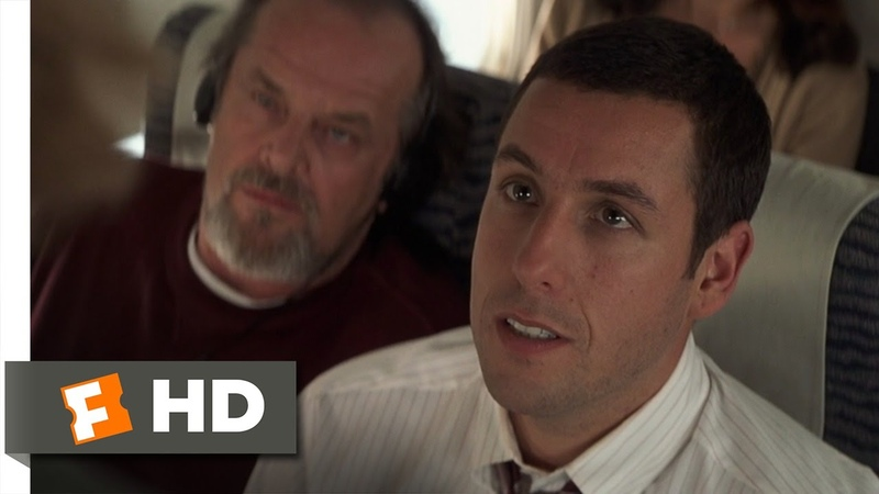 Anger Management (18) Movie CLIP - Rage on a Plane (2003) HD