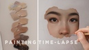 OIL PAINTING TIME-LAPSE || Rose Gold