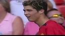 Первая игра Криштиану Роналду за Манчестер Юнайтед против Болтон Уондерерс