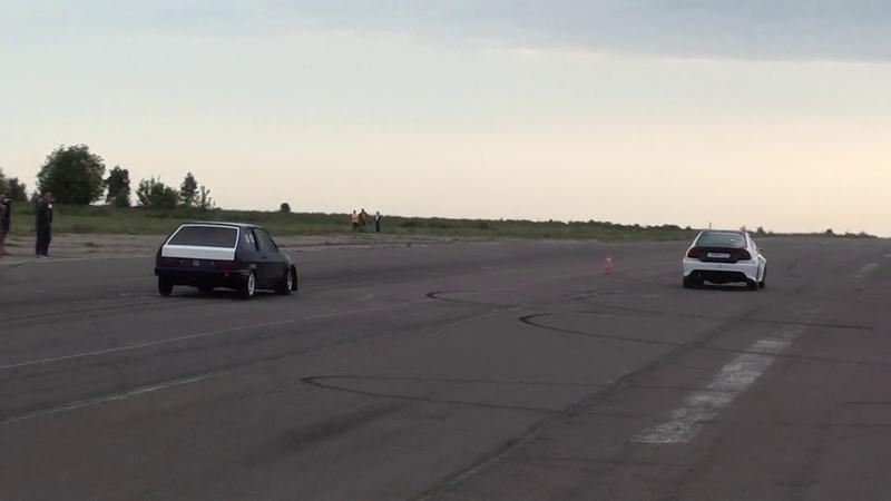 ВАЗ 2108 B20VTEC vs Lancer EVO 5