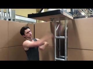 Том Холланд - Тренировка