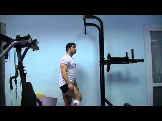 Упражнения на бицепсы - подтягивания обратным хватом