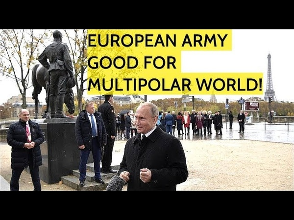 BREAKING! Putin Disagrees With Trump: I Support Macron's European Army Plan