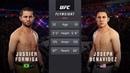 JUSSIER FORMIGA vs. JOSEPH BENAVIDEZ EA SPORTS UFC 3 CPU vs. CPU GAME PS4