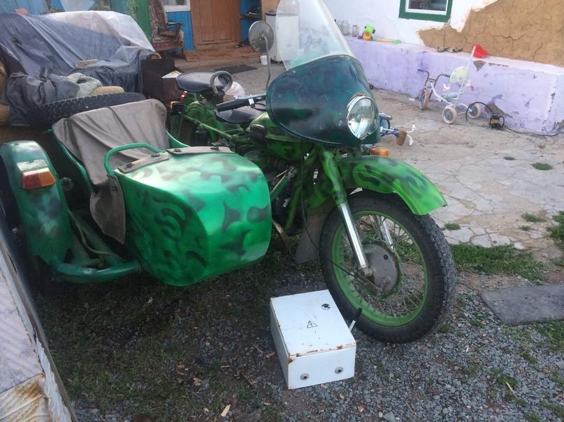 Продаётся мотоцикл «УРАЛ М67» 1980 г.в в   Объявления Орска и Новотроицка №7281