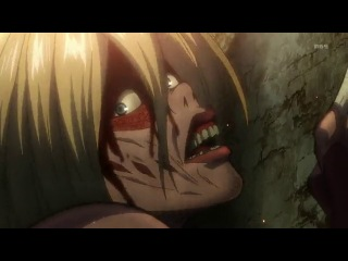 Attack on Titan 25 / Shingeki no Kyojin - 25 / Атака Гигантов / Вторжение титанов - 25 серия [Eladiel & Zendos] HD