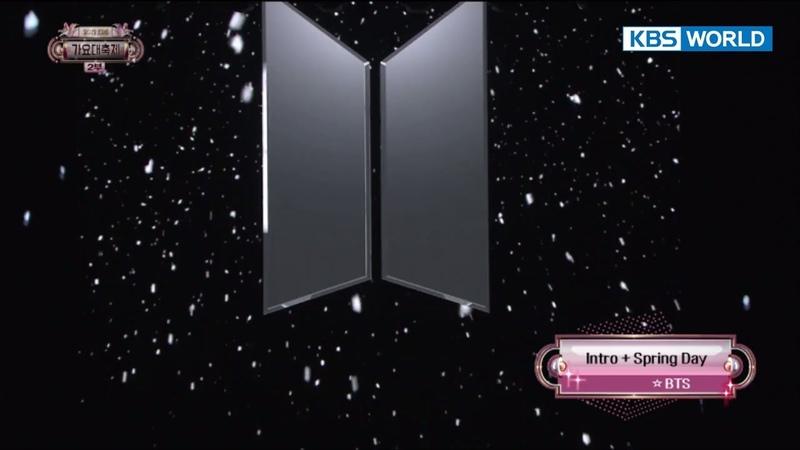 BTS - Spring day 방탄소년단 - 봄날 [2017 KBS Song Festival   2017 KBS가요대축제2017.12.29]
