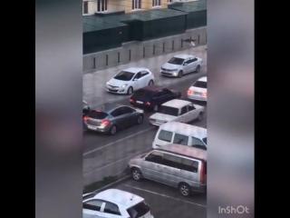 Яблоновский. Стрельба