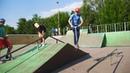 Елисей в зеленом скейтпарке м Бабушкинская 20180618