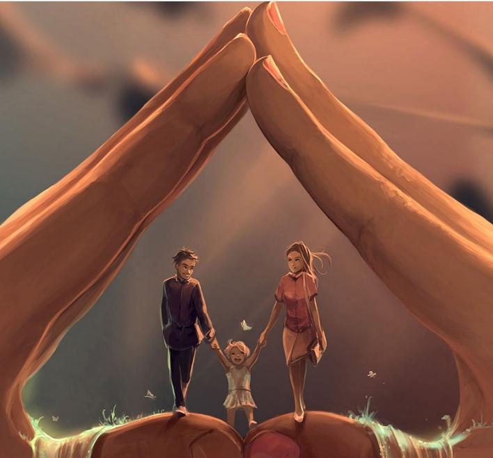 Если мать — это дом ребенка, то отец — это земля на которой стоит этот дом.