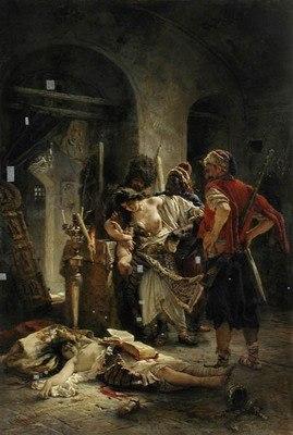 Маковский К.Е. Болгарские мученицы. 1877