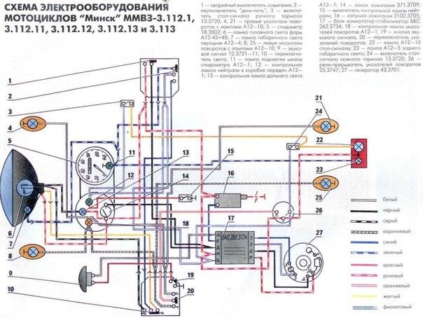 Схема минск 12 вольт