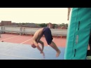 Damien Walters vs. The AirTrick Mat - Parkour - 2013
