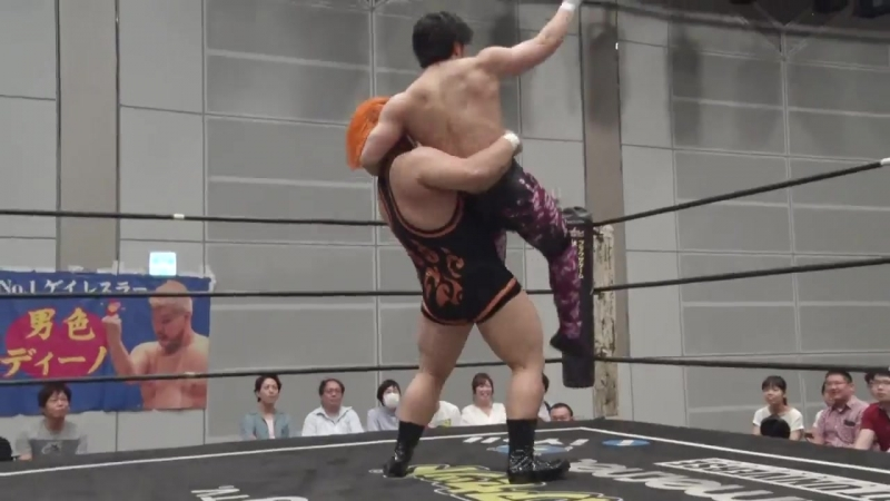 Mike Bailey, MAO, Nobuhiro Shimatani (c) vs. Naomi Yoshimura, Kenshin Chikano, Takeshi Okada (DDT - Road to Ryogoku 2018)