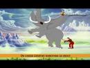 Небесный летающий Слон из цикла Панчатантры Heavenly Flying Elephant Panchatantra Tales