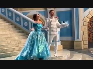 Наталия Медведева и Сергей Лазарев на съёмках мюзикла
