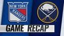 Sheary strikes twice as Sabres take down Rangers, 3-1