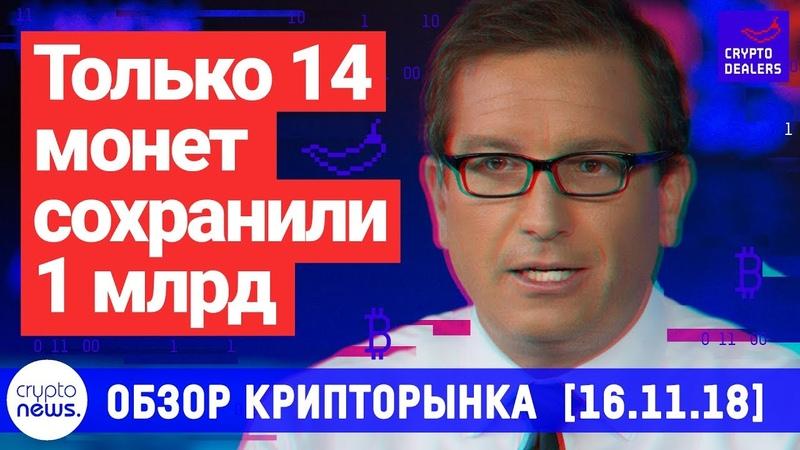 Только 14 монет сохранили 1 млрд объема. Украинские налоговики создают пирамиды