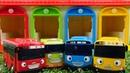 Vidéo en français pour enfants. Les bus Tayo le pneu à plat