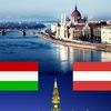 Два пейзажа в двух столицах! (Будапешт vs Вена)
