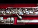 Tchaikovsky - Andante cantabile, flute Marcel Moyse