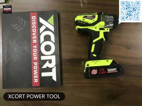 XCORT power tools 21V LI-ION IMPACT DRIVER China power tools not bosch makita