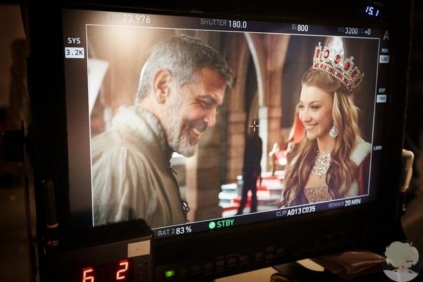 Джордж Клуни и Натали Дормер снялись в новом рекламном ролике кофе Nespresso